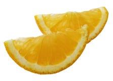 Dünne Scheibe einer Orange Stockbilder