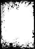 Dünner grunge Rand Stockbilder