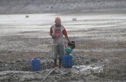 Dürre in Indonesien lizenzfreie stockfotografie