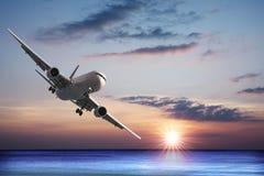 Düsenflugzeug Lizenzfreie Stockfotos