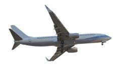 Düsenflugzeug lokalisiert auf weißem Hintergrund Lizenzfreie Stockbilder