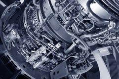 Düsentriebwerk Stockfotografie