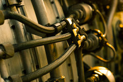 Düsentriebwerk Stockfoto