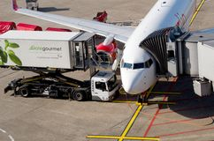 Düsseldorf airport Stock Images