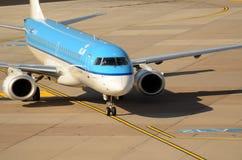 Düsseldorf airport - Air France KLM Stock Photography