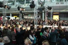 Düsseldorf Airport Fashion Show Stock Photos