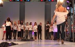Düsseldorf Airport Fashion Show Royalty Free Stock Photos