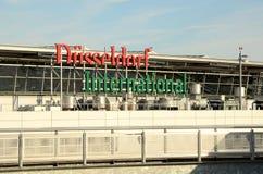 Düsseldorf Flughafen Lizenzfreie Stockbilder