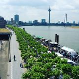 Düsseldorf Royalty Free Stock Photography