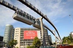 Düsseldorf SkyTrain Fotografering för Bildbyråer