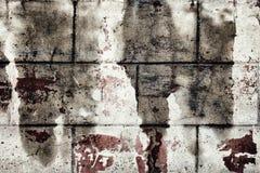 Düstere Schmutzbeschaffenheit der alten schmutzigen Betonmauer Lizenzfreies Stockfoto