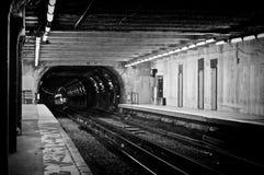 Düsteres Depot Stockbild