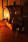 Wino loch obrazy royalty free