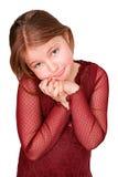 dąsa się młode dziewczyny Zdjęcie Stock