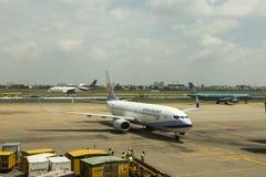 Dębny syna Nhat lotnisko międzynarodowe, Wietnam Zdjęcie Stock