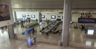 Dębny syna Nhat lotnisko międzynarodowe, Wietnam, przyjazdowa sala Zdjęcie Stock