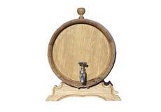 Wino baryłka. Obrazy Stock