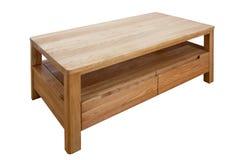 dębowego drewna stół Obrazy Royalty Free