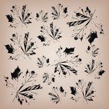 Dębowy liścia backround Obrazy Royalty Free