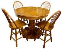 dębowy stół baru Obraz Royalty Free