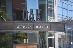 Dębowy steakhouse, Nashville, Tennessee obraz royalty free