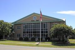 Dębowy wyspa urzędu miasta budynek Zdjęcie Stock
