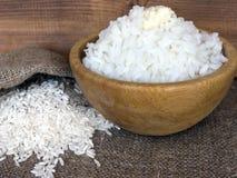 Dłudzy zbożowi ryż z masłem fotografia royalty free