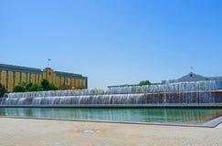 Długa fontanna obraz stock