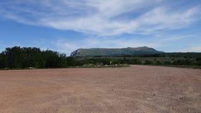 Długa góra w Crimea zdjęcie stock