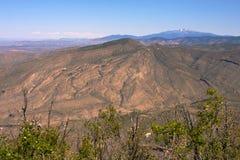 Długa grań Mountains-1 fotografia stock