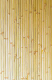 Długi żółty bambusowy tekstury vertical Zdjęcie Royalty Free