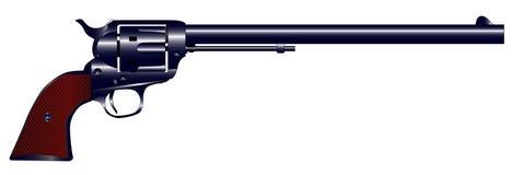 Długi baryłki Sześć pistolet Obrazy Royalty Free