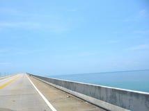 Długi, długi most, zdjęcie stock