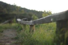 Długi deskowy krzesło Fotografia Royalty Free