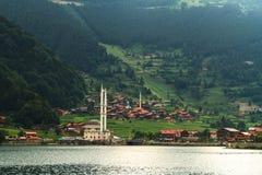 Długi jezioro w Trabzon fotografia royalty free