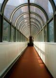 Długi korytarz zdjęcia stock