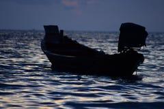 długi ogon łodzi Fotografia Royalty Free