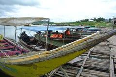 długi ogon łodzi Obraz Stock