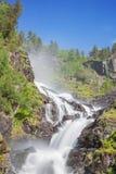 Długi ujawnienie prawa gałąź Latefossen obrazy royalty free