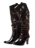długie polskich kobiet buta fotografia stock