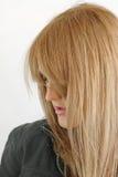 długie włosy fotografia stock