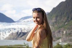 długie włosy g - girl Zdjęcia Royalty Free