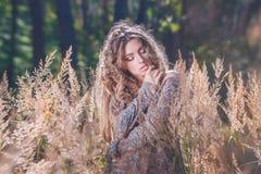 długie włosy g - girl Obrazy Royalty Free