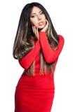 długie włosy kobiety Zdjęcia Royalty Free