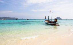 Długiego ogonu łódź Fotografia Stock