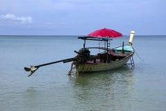 Długiego ogonu łódź, Phuket Fotografia Royalty Free