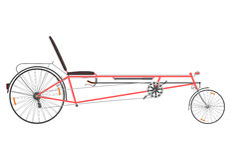 Retro recumbent rower. Zdjęcia Stock