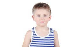 Długość portret chłopiec Zdjęcia Stock