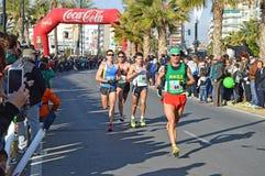 Długodystansowi biegacze Zdjęcie Royalty Free