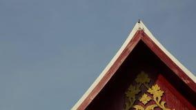 Dźwięk dzwon na przodzie świątynia w Tajlandia zbiory